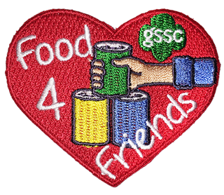 Food For Friends Patch