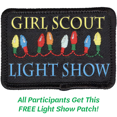 Girl Scout Light Show Patch